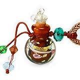 王廷珠宝 雾里看花琉璃百宝瓶项链-咖啡-图片