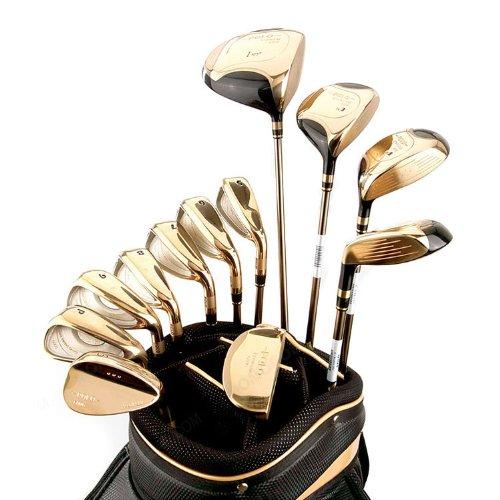 polo高尔夫球杆 高尔夫套杆 m6007 polo dulciana男式套杆 男款黄金套