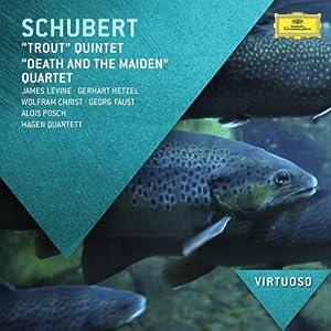 cd舒伯特鳟鱼五重奏