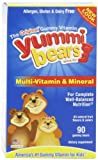 Yummi Bears甜咪小熊 儿童果味软糖(含多种维生素及矿物质)180g(90粒)(美国进口)-图片
