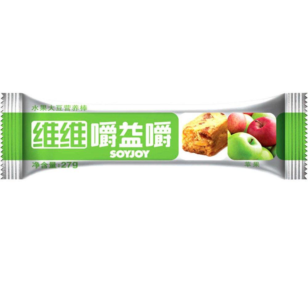 维维嚼益嚼水果大豆营养棒 好吃的苹果哦~~ 嚼一嚼 低