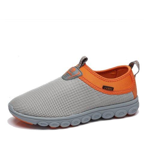 Camel 骆驼 户外休闲鞋 2014年新款男士低帮套筒舒适透气休闲鞋运动鞋正品A422303015