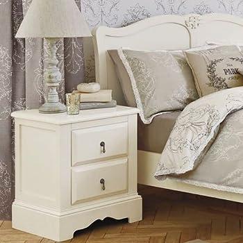 m.b喜梦宝实木家具 欧式时尚松木床头柜 带抽屉实木