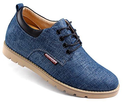 GOG(高哥)  WZ888男式商务休闲鞋 潮流时尚增高6.5CM新款
