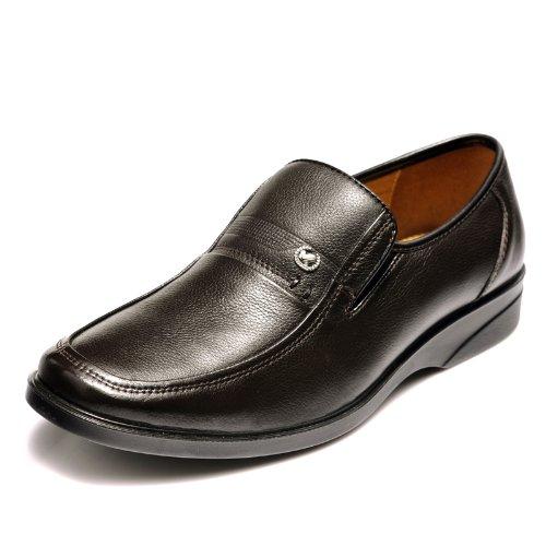 富贵鸟 FGN新款男鞋真皮头层牛皮鞋正装商务皮鞋