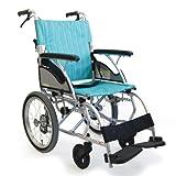 【和美德】日本河村轮椅 CHL16-40B 超轻轮椅 浅绿色 紫色-图片