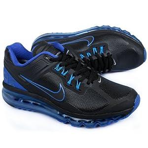 nike耐克2013秋冬新款皮质airmax全掌气垫男子跑步鞋运动高清图片