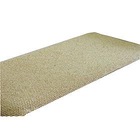 纯手工编织木珠沙发坐垫米白色70 210cm