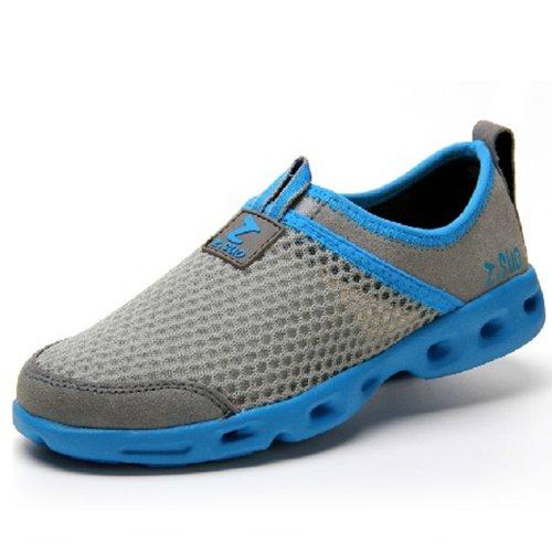Suo 走索 夏季潮流男凉鞋 网布鞋休闲凉鞋洞洞鞋 沙滩鞋男鸟巢运动凉鞋