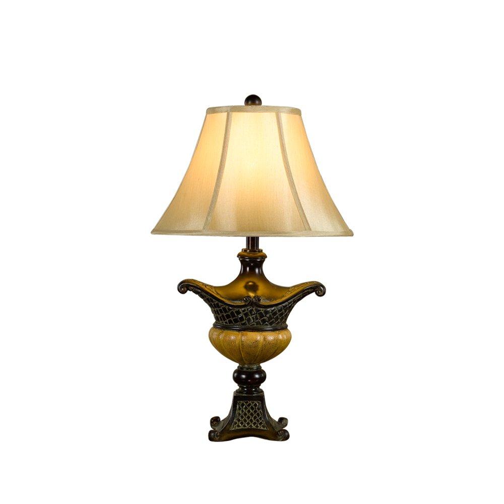 欧式复古装饰台灯卧室
