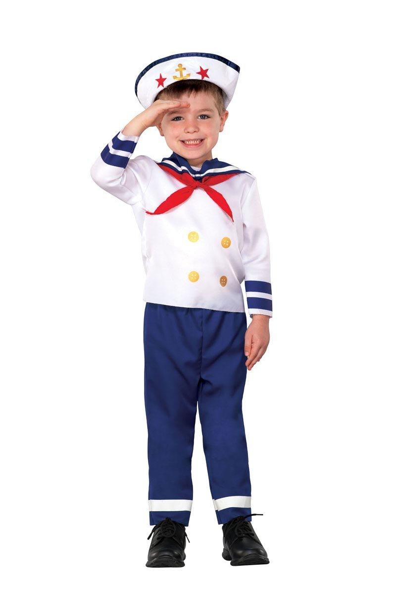 儿童海军简笔画