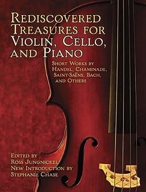 handclap钢琴曲谱- Cello Piano Short Works by Handel, Chaminade, Saint Saens, Bach