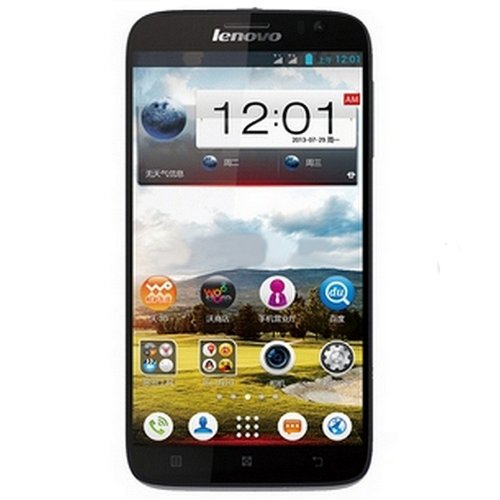 Lenovo 联想 A850 WCDMA/GSM 双卡双待 3G手机(黑色  联通定制机)5.5英寸超大IPS屏,四核,支持联通21M极速下载-图片