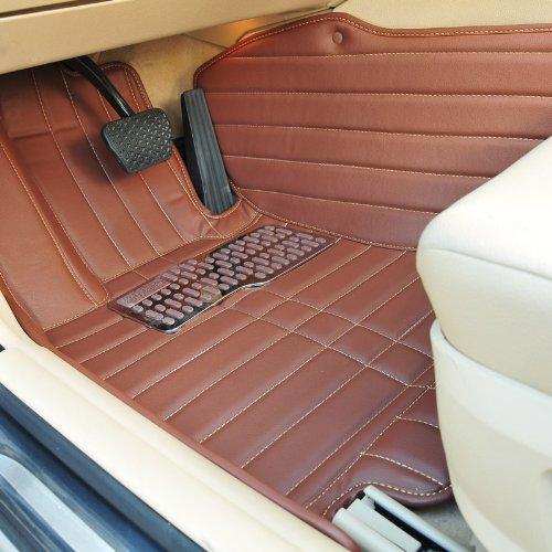 回至lefeng 乐峰 朗逸专车专用全包围立体手缝脚垫 (朗逸, 棕色)