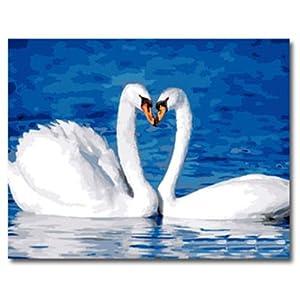 特价手绘客厅动物爱情壁画
