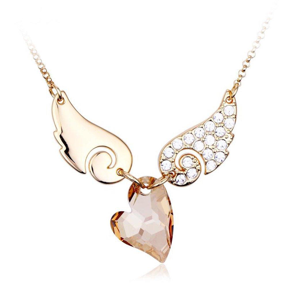施华洛世奇元素天使之翼水晶项链