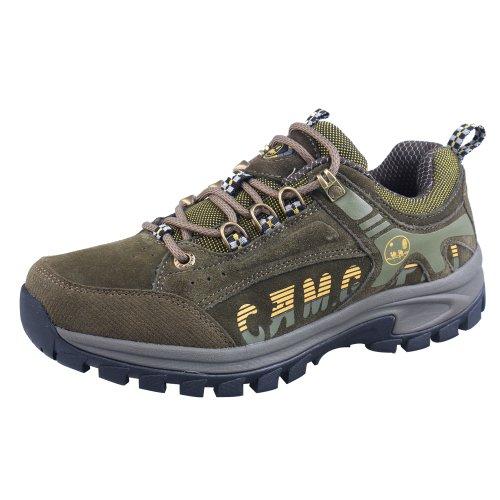 CAM.GNPAI 骆驼队长 经典款户外鞋 优质反绒牛皮 AA238001727