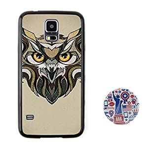 猫头鹰 动物头像浮雕设计风格 塑料 tpu手机壳 手机套
