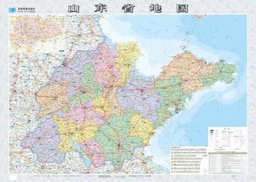 山东省地图图片/大图欣赏