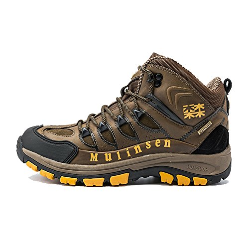 木林森 登山鞋 高帮户外保暖短靴 防滑耐磨徒步鞋运动鞋