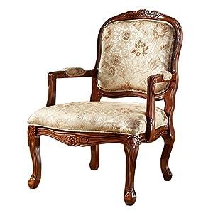 美式单人沙发椅 欧式休闲椅