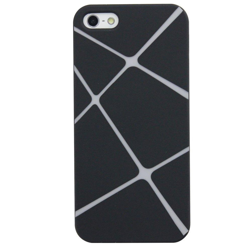 乾甲天 iphone 5/5s 磨砂超炫风度手机壳(黑白)
