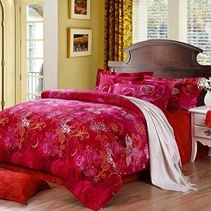 BEYOND 博洋家纺 双人超耐磨活性印花床单四件套 ¥299