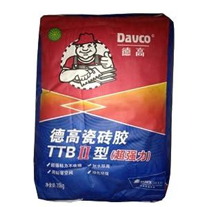 德高瓷砖胶 TTB2型 1型 超强粘力 胶粘粉 重砖背图片