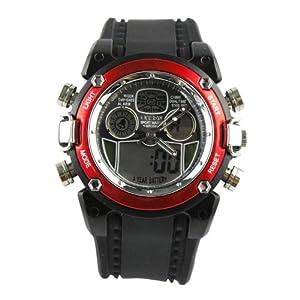 薇趋势 viwill 橡胶手表 腕表 多功能计时表 日历表 防水表 电子表 潮 6838