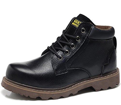 Guciheaven 古奇天伦 英伦男士系带复古高帮休闲工装靴马丁靴皮靴短靴子男鞋潮鞋