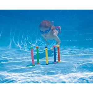 正品intex五色潜水棒 潜水玩具