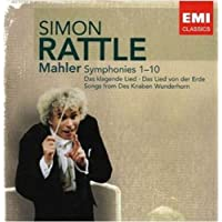 进口CD:马勒交响曲全集Simon Rattle