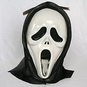 供應經典恐怖鬼面具鬼臉面具鬼節面具尖叫面具萬圣節復活節面具