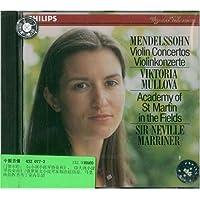 进口CD:门德尔松:E小调和D小调小提琴协奏曲
