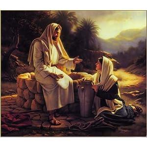 佳彩天颜 数字油画diy客厅手绘人物情侣装饰画上帝耶稣救世主 上帝