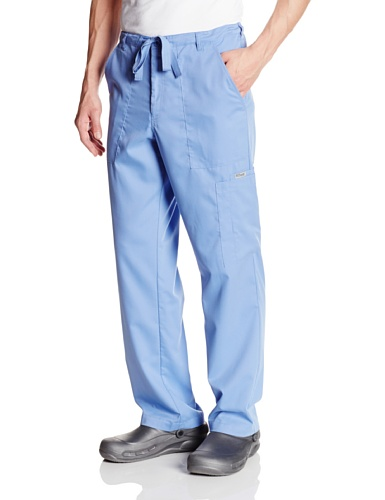 Grey's Anatomy 男士 6 Pocket Zip Fly Drawstring Scrub Pant Ceil 大