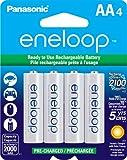 panasonic松下Eneloop可充2100次5号4节AA电池