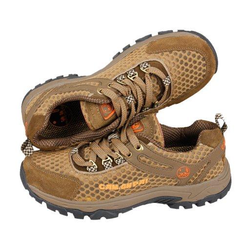 CAM.GNPAI 骆驼队长 2013新款 反绒牛皮 时尚自然 户外运动休闲鞋 防滑耐磨 徒步鞋 236086107