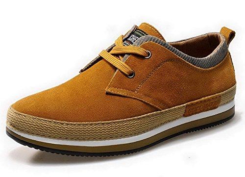 古奇天伦 2015真皮休闲鞋 男鞋 男士皮鞋 反绒英伦板鞋 时尚潮鞋子 驾车鞋 5G712