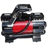 非常爱车 1382 大功率汽车轮胎双缸充气泵(美国原创设计 高效动力 低噪音工作 造型时尚)-图片
