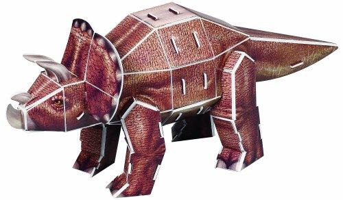 喜立方3d立体手工拼图益智玩具纸模型恐龙组合g168-12