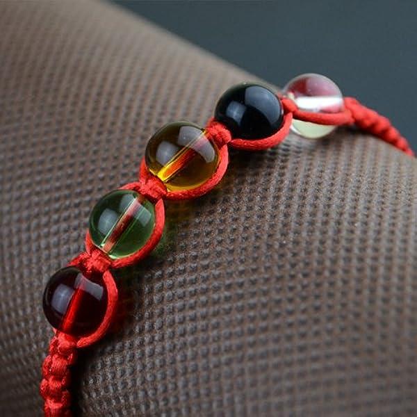 五色线红绳手链五行转运珠金刚结红绳子红绳2015羊年