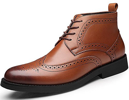 Unbeaten 流行霸气时尚 布洛克 高端奢华 时装靴 高帮靴 头层牛皮 男靴 工装靴 马丁靴 牛仔靴 户外靴 舞台靴 男鞋