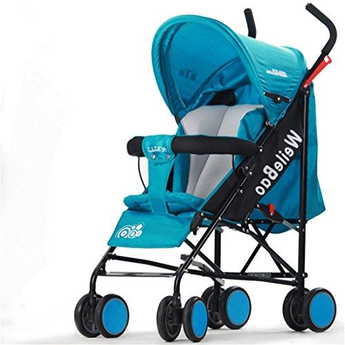 婴儿伞车婴儿手推车 可坐可躺宝宝伞车 四轮儿童小推车 折叠婴儿推车