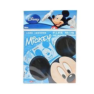 disney 迪士尼 米奇手工折纸dm6386(8色/24张)蓝色 内
