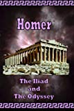 Book Cover for Homer - The Iliad and The Odyssey
