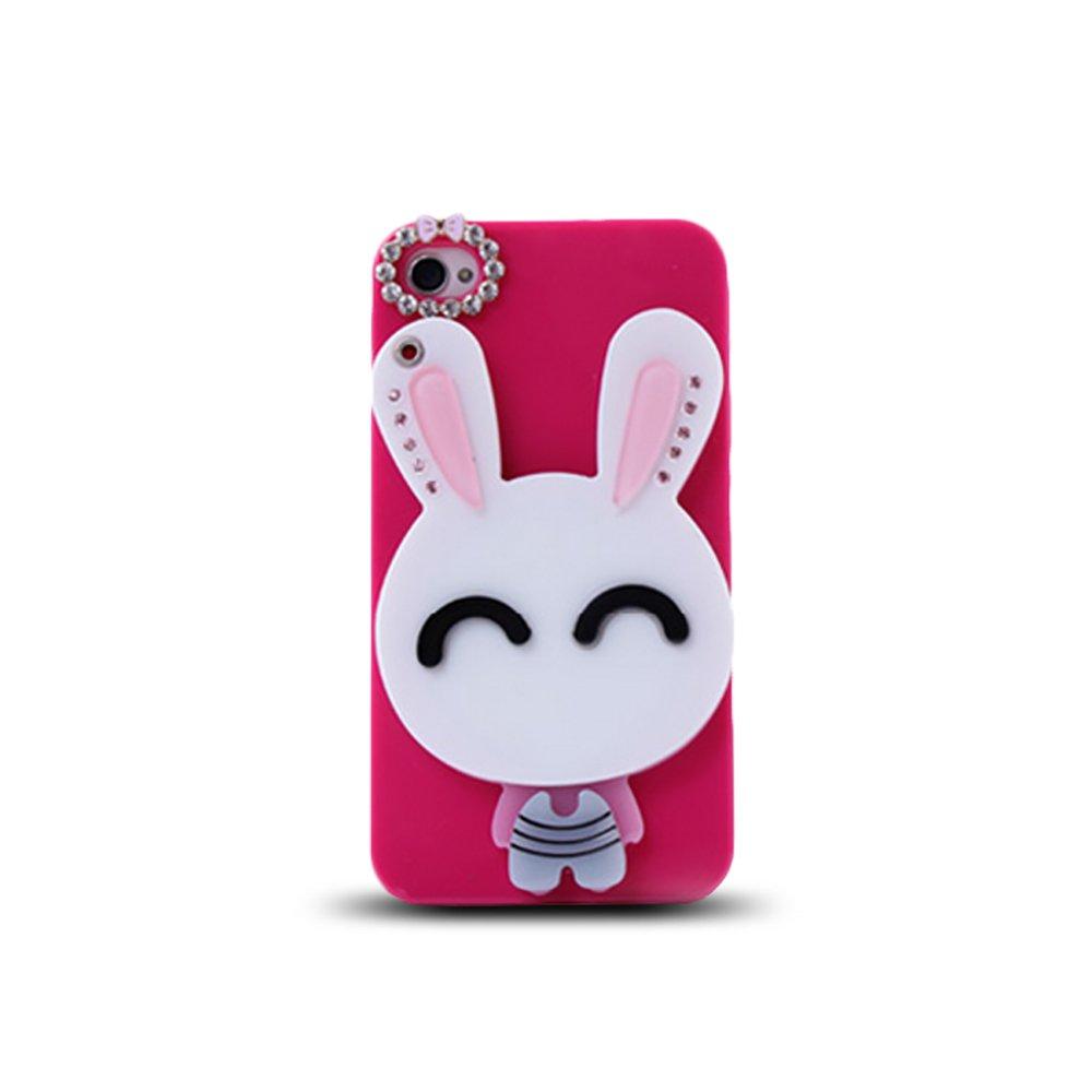 韩国 苹果5手机壳 iphone5s手机保护套 4s可爱卡通手机套 外壳潮女