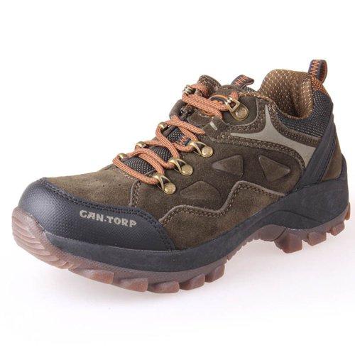 CAN.TORP 骆驼 男式户外鞋 登山鞋 牛二层反绒皮 防滑 E23802
