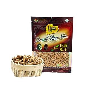 何字食品 巴西松子160g 当季优质新品手剥薄壳新货坚果零食 巴西松子 图片