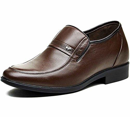FGN 富贵鸟 经典时尚商务皮鞋 低帮正装皮鞋 男士皮鞋 休闲皮鞋 新款套脚皮鞋 四季鞋男鞋